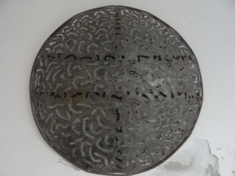 Plafoniera Ferro Battuto Nero : Plafoniera in ferro battuto marco polo antiques online