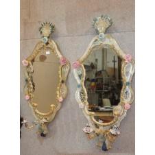Murano glass mirror, No. 1