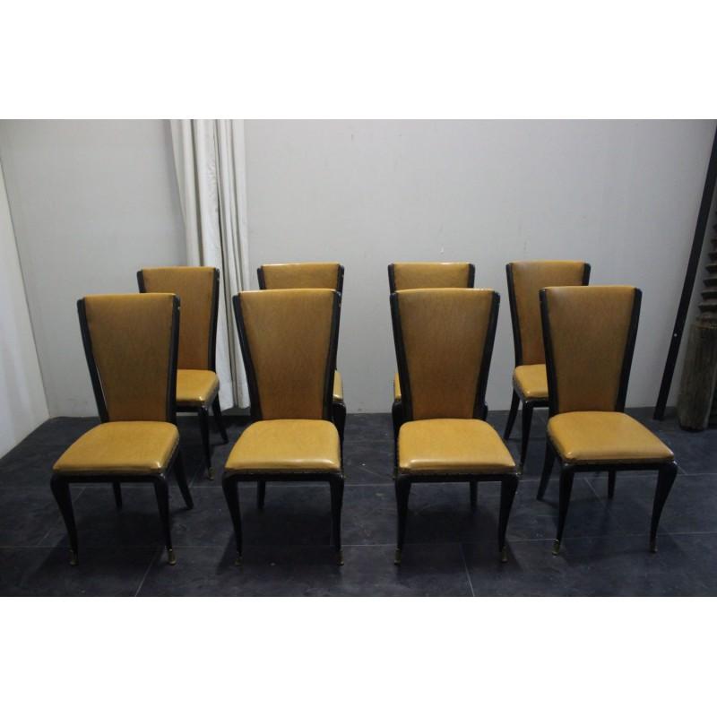Sedie da sala anni 39 50 in stile jannace kovacs marco for Sedie design 900