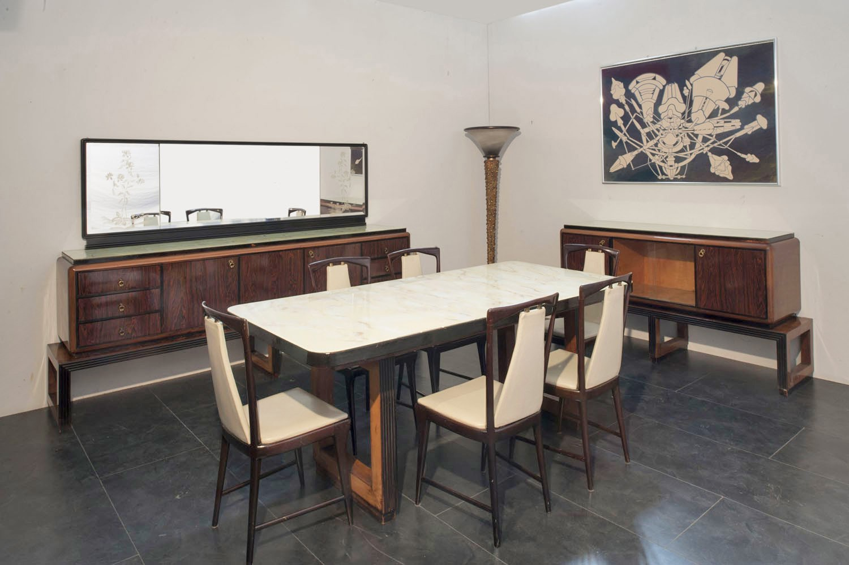 Tavolo Pranzo Art Deco marco polo - antiques online -