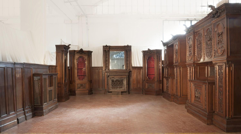 Sala Da Pranzo Neorinascimentale In Noce Massello Marco Polo Antiques Online