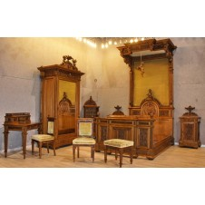 """P.le Giuliano E.F."" bedroom set"