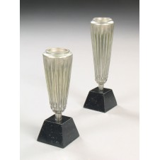 Candle Holder, Copa, 2/set 13x13x37h,43h
