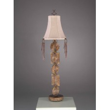 CONSOLE LAMP, TRIBAL FRAGMENTS, 76H