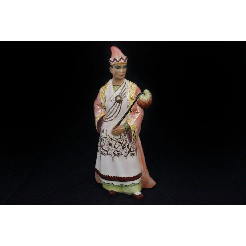STATUE OF CHINESE EMPEROR FROM SICAT TORINO, 1960S
