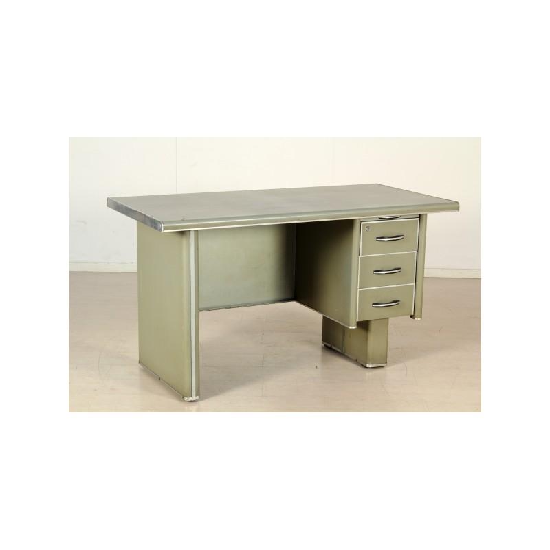 scrivania da ufficio anni 39 50 in metallo marco polo