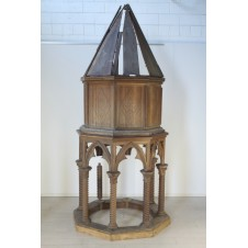 19th century neo-renaissance pulpit