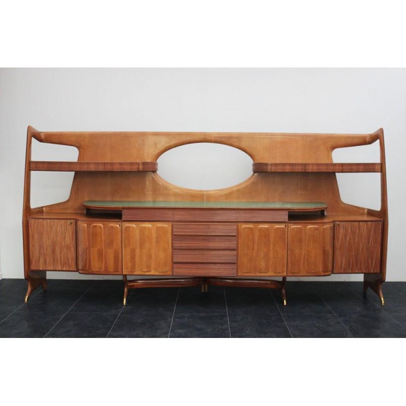 Grande credenza tipo ico parisi marco polo antiques - Art nouveau mobili ...