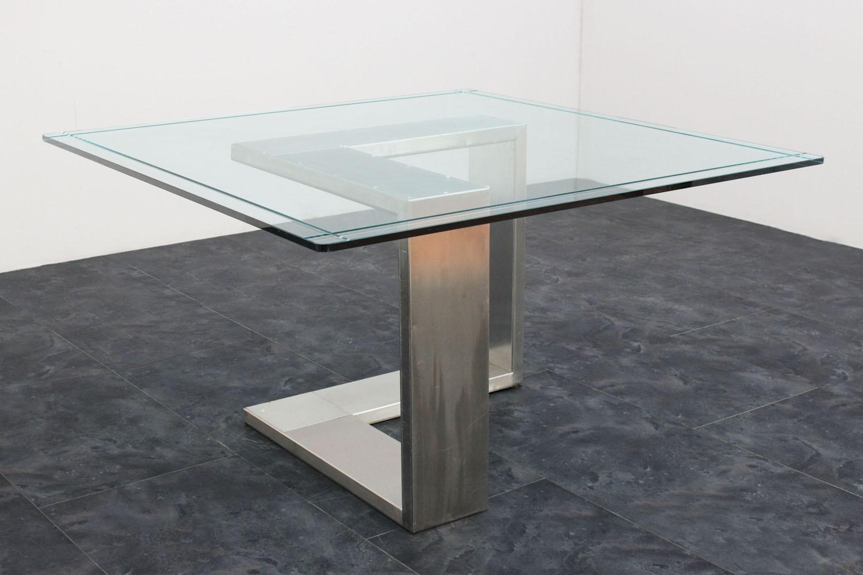 Tavoli vetro e acciaio | Eziadilabio
