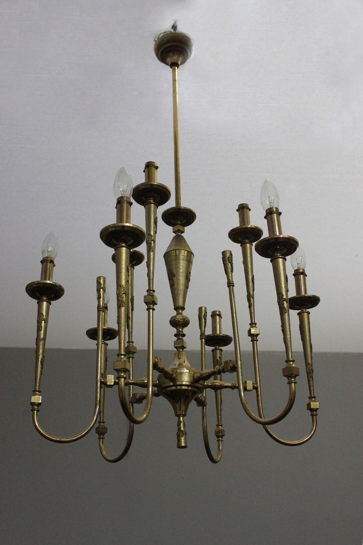 lampadario anni : LAMPADARIO ANNI 50 - Marco Polo - Antiques online -